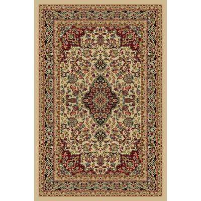 Hamam Collection Ivory 2 ft. x 3 ft. Area Rug
