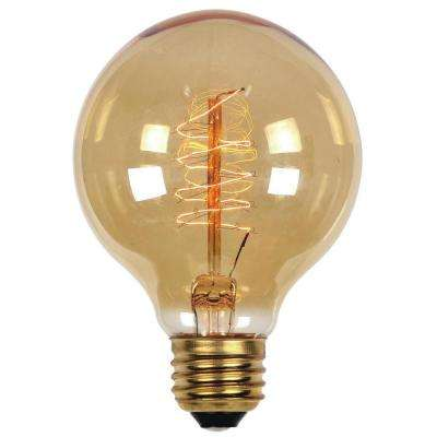 60-Watt Timeless Vintage Inspired Incandescent G25 Light Bulb