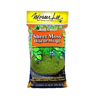 325 sq. in. Sheet Moss Soil Cover