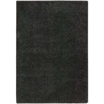 Amore Dark Grey 5 ft. 3 in. x 7 ft. 5 in. Area Rug