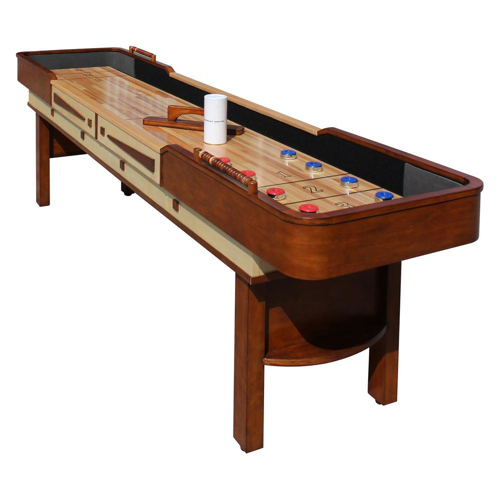 Charmant Hathaway Merlot 9 Ft. Shuffleboard Table