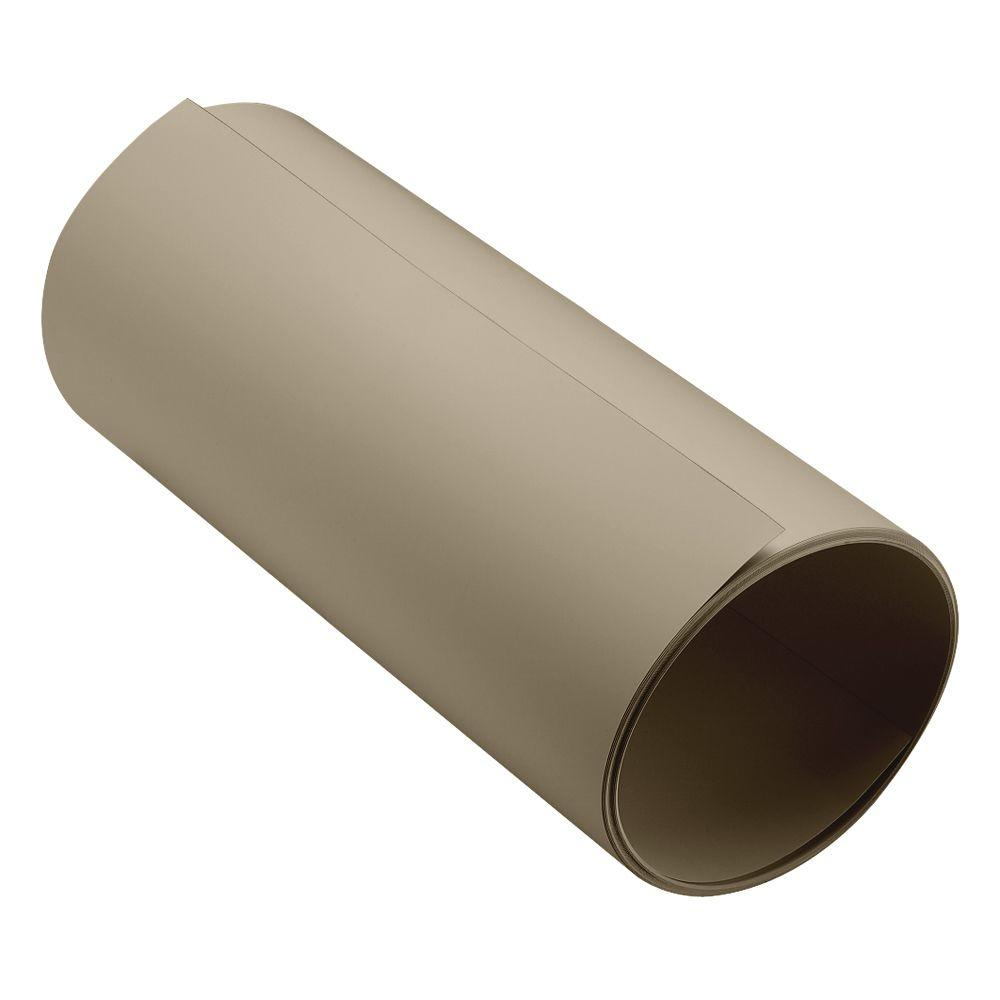 24 in. Khaki/Shaded Cedar PVC Aluminum Trim Coil