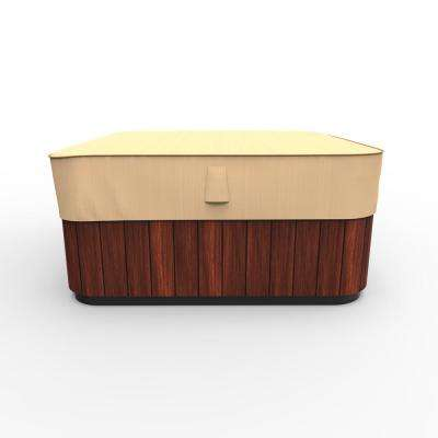 Rust-Oleum NeverWet Large Tan Outdoor Square Hot Tub Cover