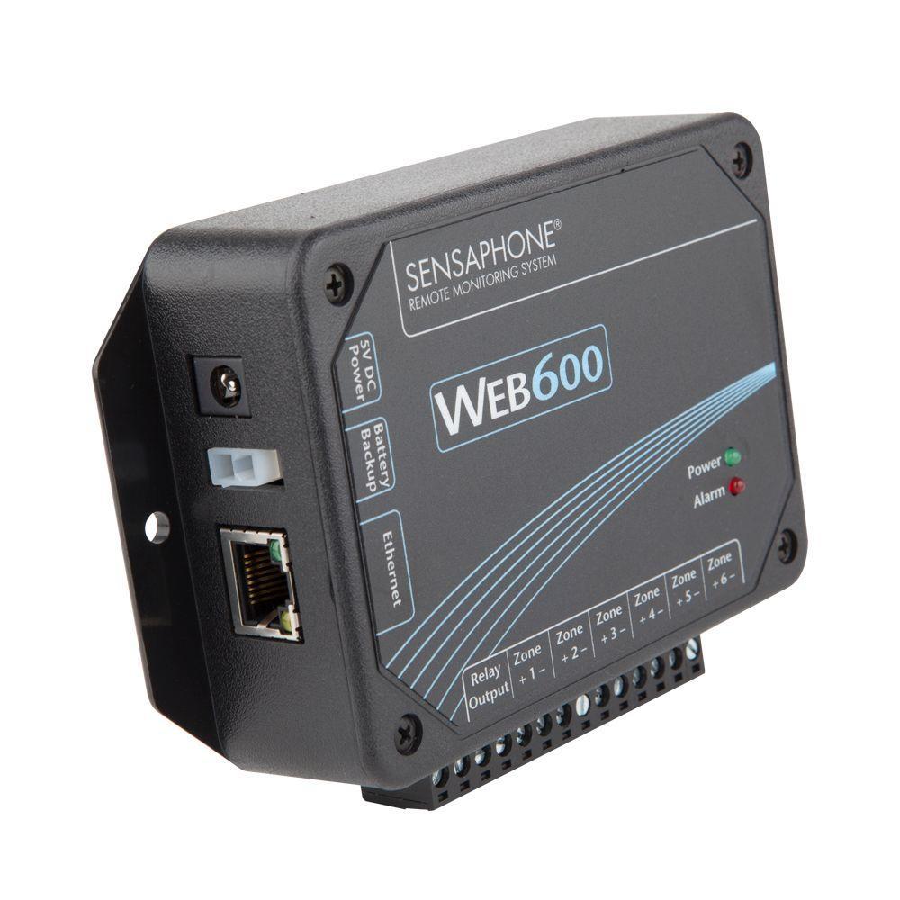 Sensaphone Web600 Series 6 Channel Web Based Monitoring S...