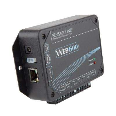 Web600 Series 6 Channel Web Based Monitoring System