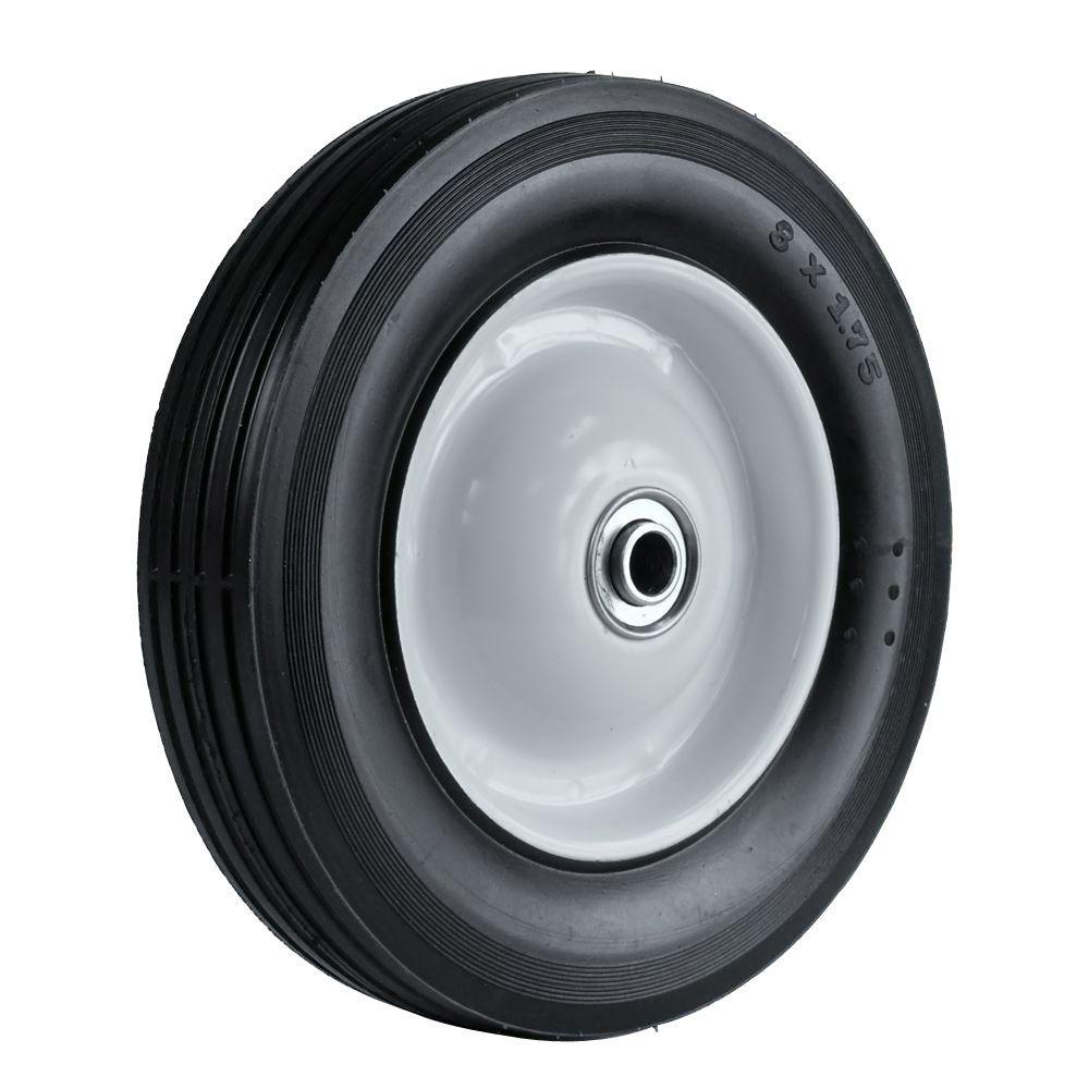8X1.75 Light Duty Steel Wheel