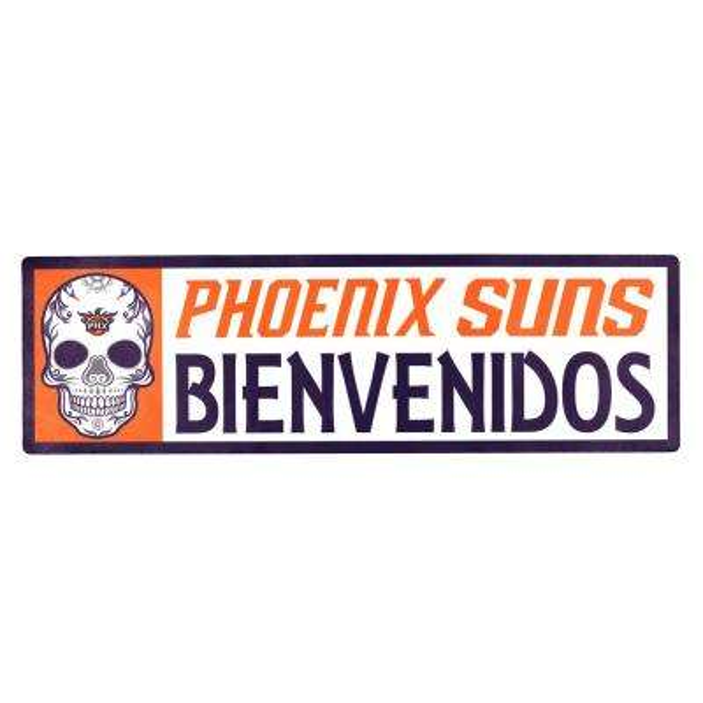 NBA Phoenix Suns Bienvenidos Step Graphic