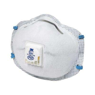 P95 Paint Odor Valved Respirator Mask (2-Pack)(Case of 6)