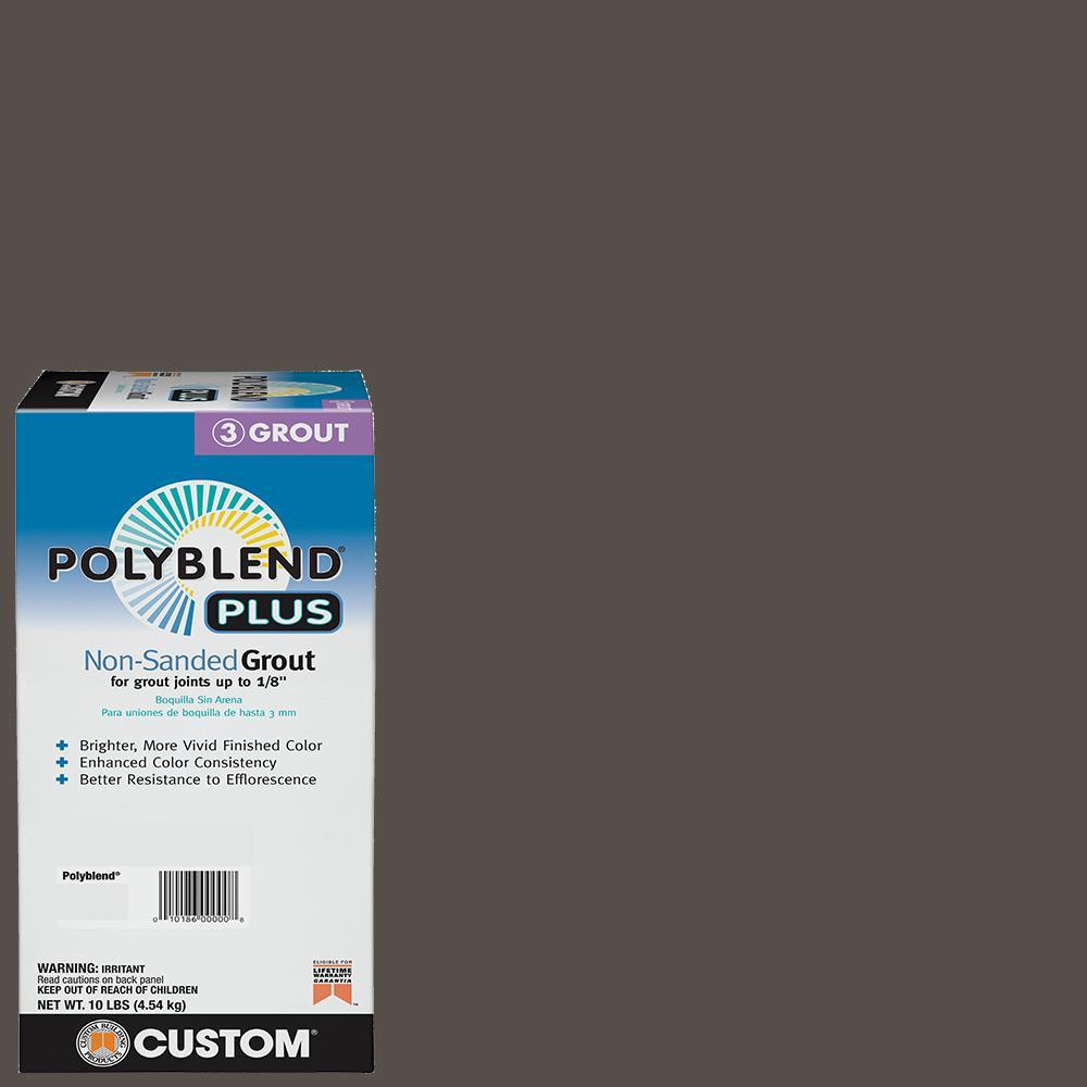 Polyblend Plus #540 Truffle 10 lb. Non-Sanded Grout