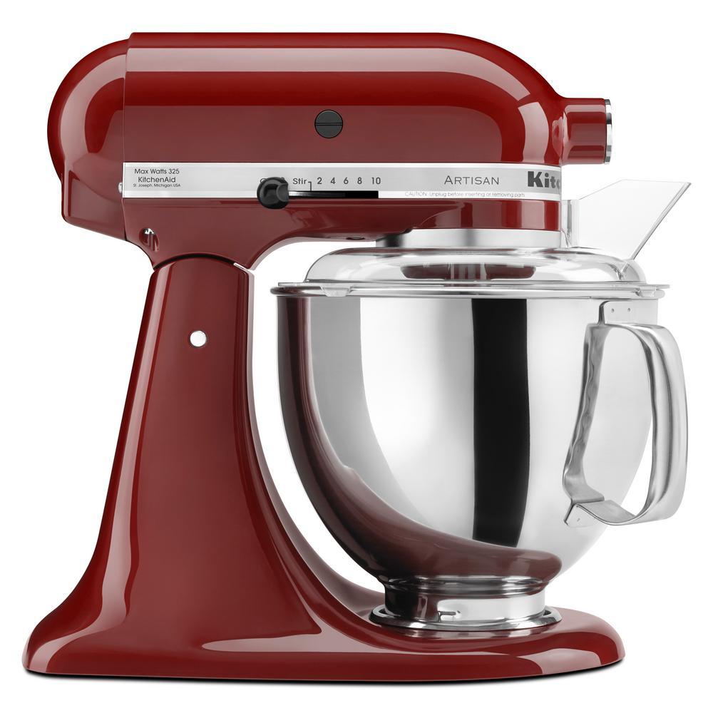 Artisan 5 Qt. Gloss Cinnamon Stand Mixer