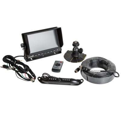 Rear Observation System with License Plate Night Vision Camera