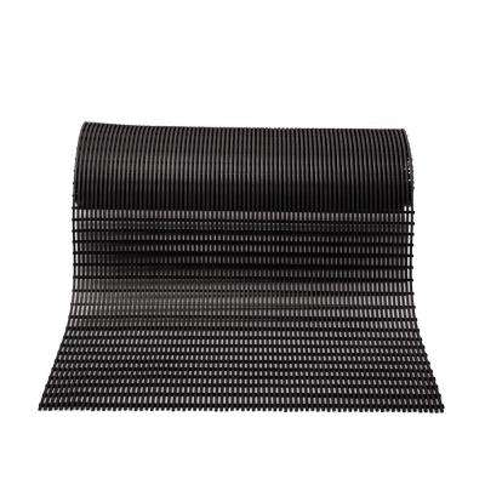 Barepath Black 3 ft. x 10 ft. PVC Safety and Comfort Runner