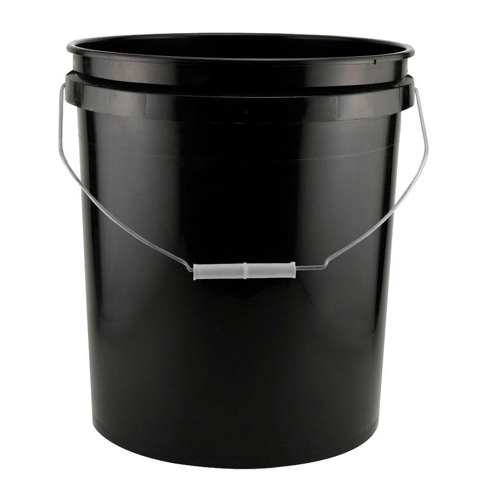 Uncategorized Large Buckets the home depot 5 gal homer bucket 05glhd2 black project pack of 3