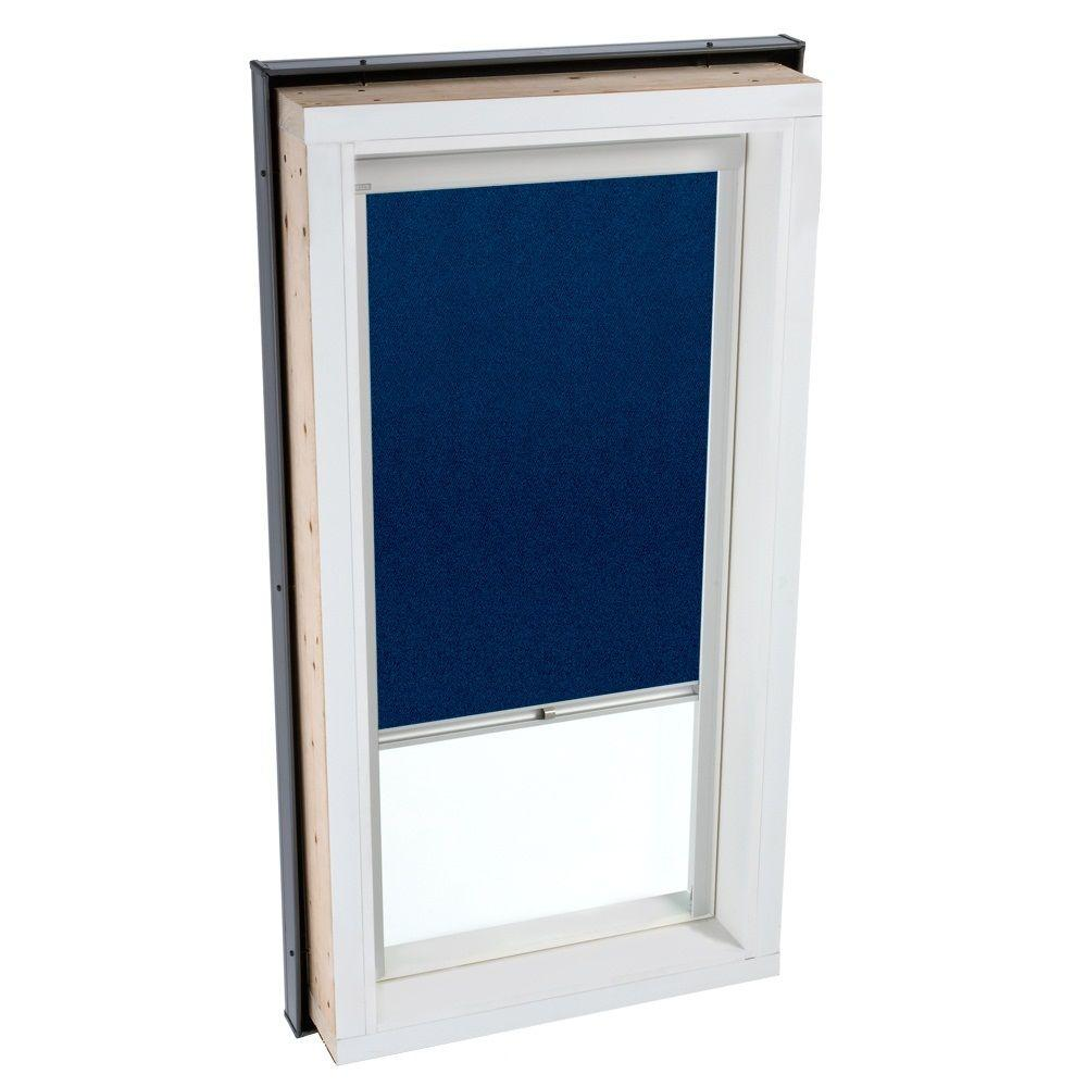 VELUX Dark Blue Manually Operated Blackout Skylight Blinds for FCM/QPF 3434 Models-DISCONTINUED