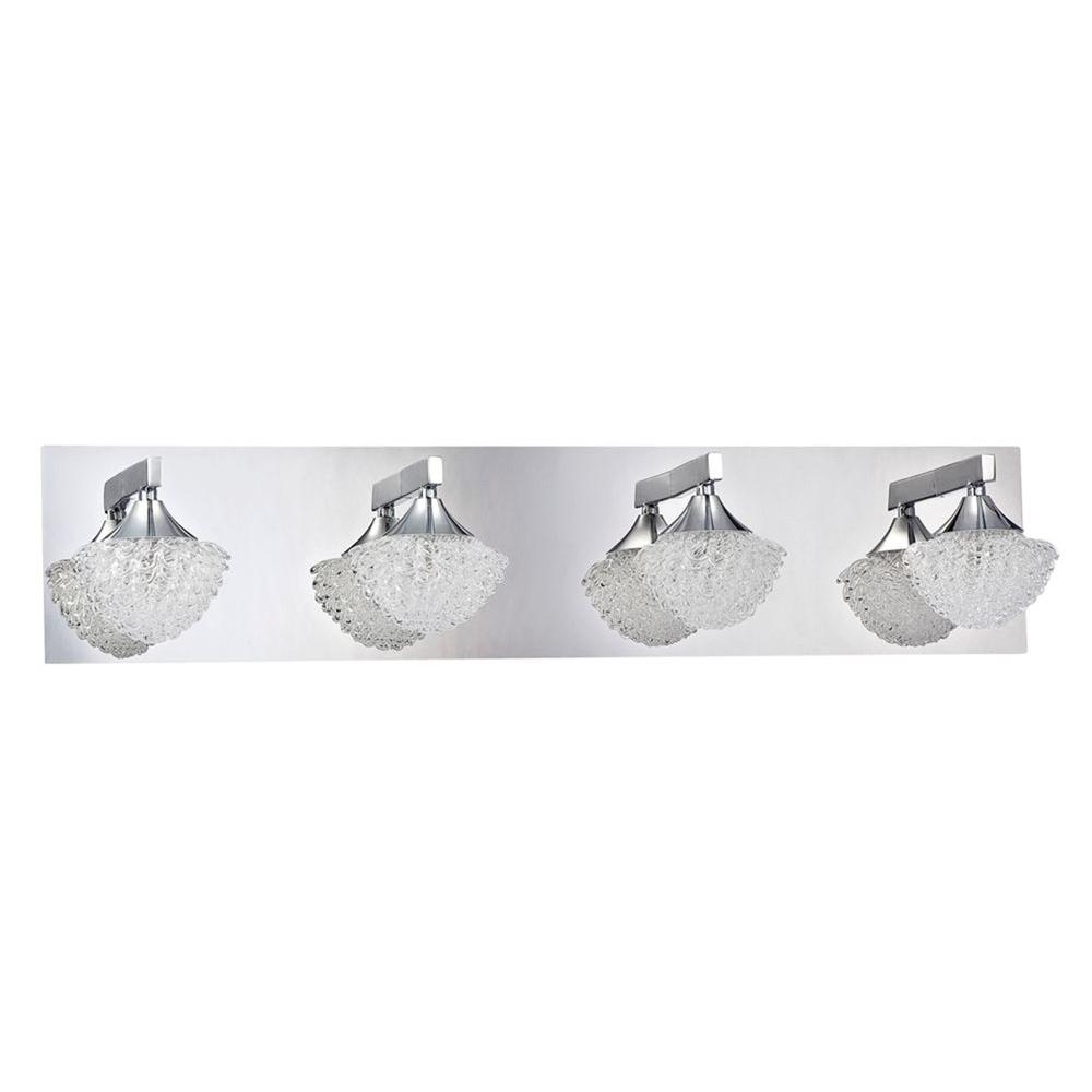 Kriemhild 4-Light Chrome Bath Vanity Light