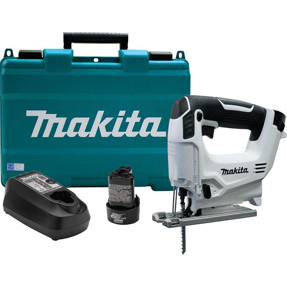 Makita 12-Volt Max Lithium-Ion Cordless Jig Saw Kit by Makita