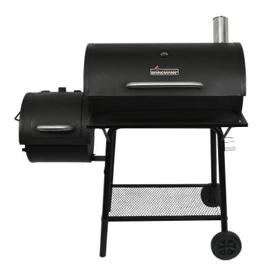 Charcoal Grill and Off-Set Smoker