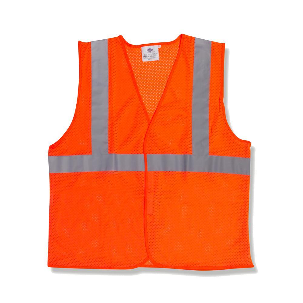 X-Large Orange High Visibility Class 2 Reflective Safety Vest