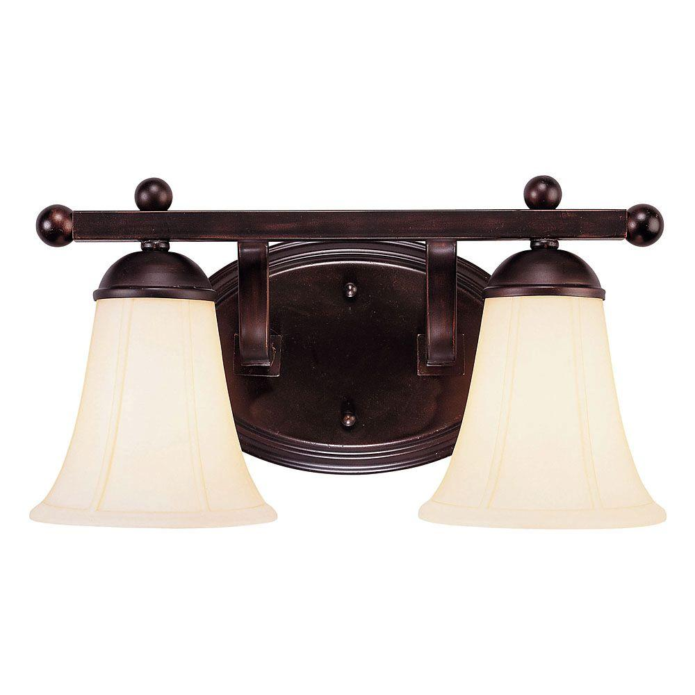 World imports 3 light oxide bronze with silver bath bar - Chapter 3 light bar bathroom light ...