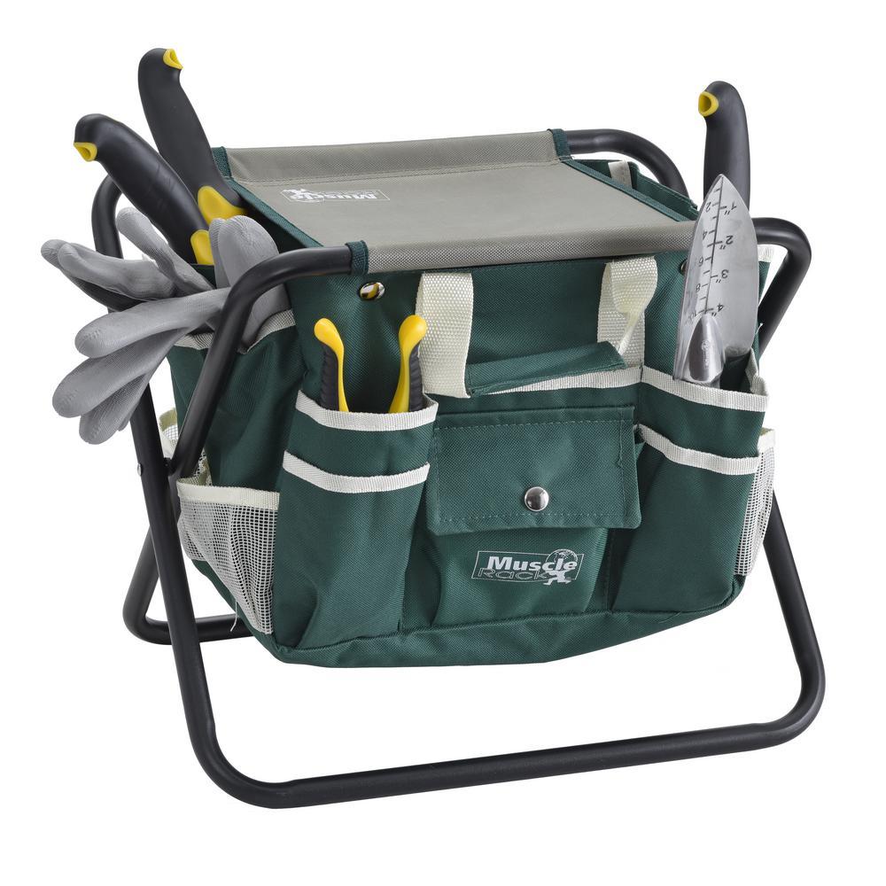 Muscle Rack 8-Piece Garden Tool Set