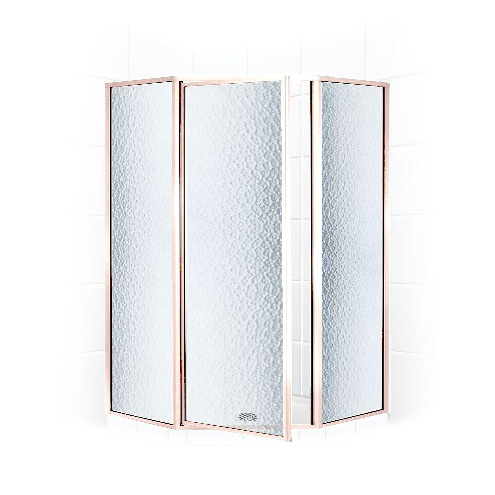 coastal shower doors legend series 59 in x 66 in framed neoangle