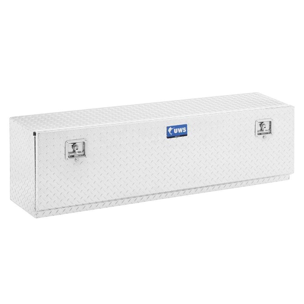 48 in. Aluminum Single Door Topsider Tool Box