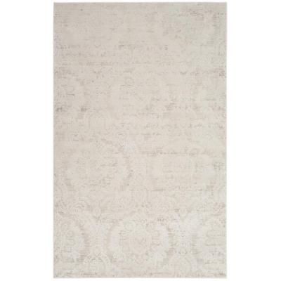 Safavieh Princeton Silver Beige 9 Ft X 12 Ft Area Rug Prn717b 9 The Home Depot