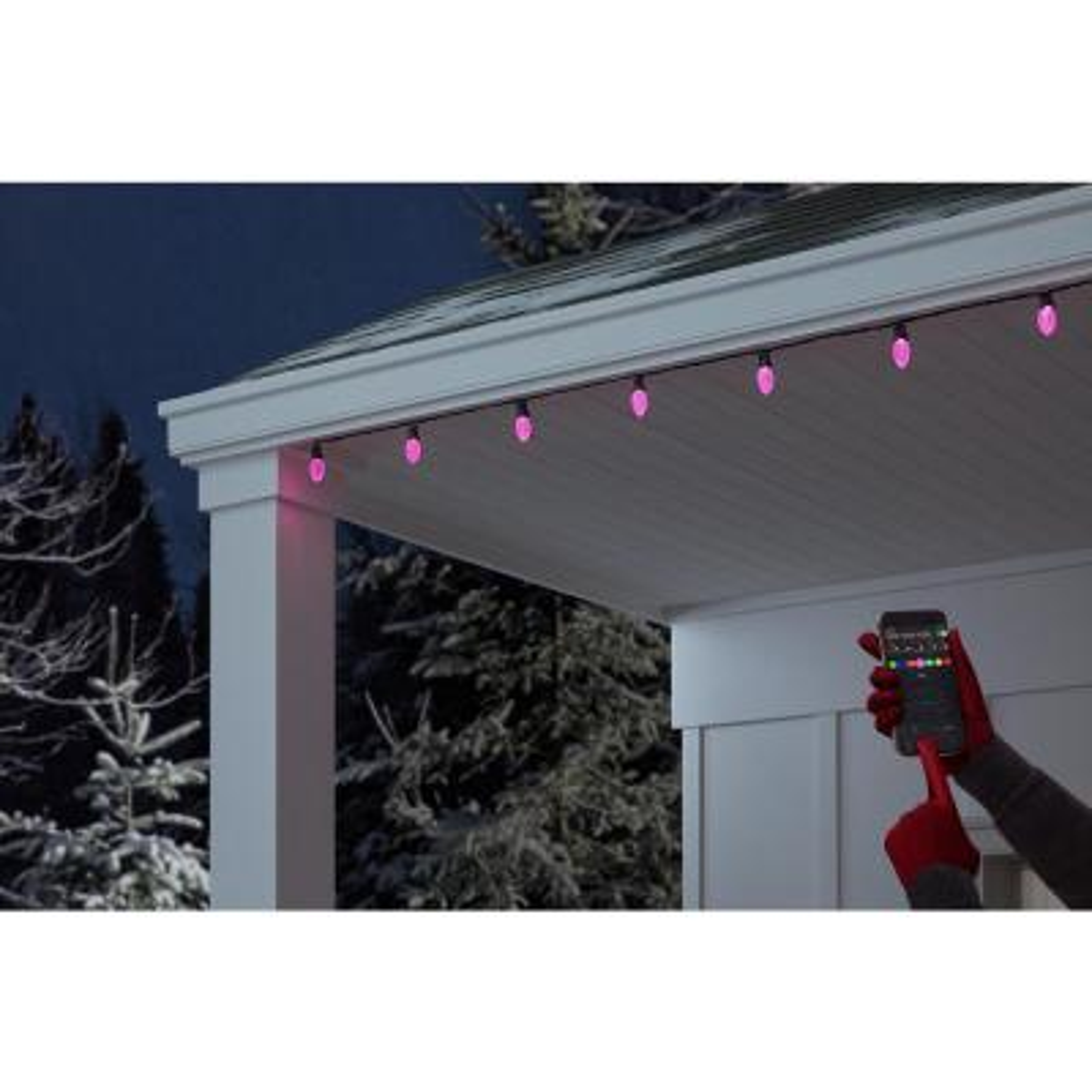 App 24-Light LED multicolor C9 Light