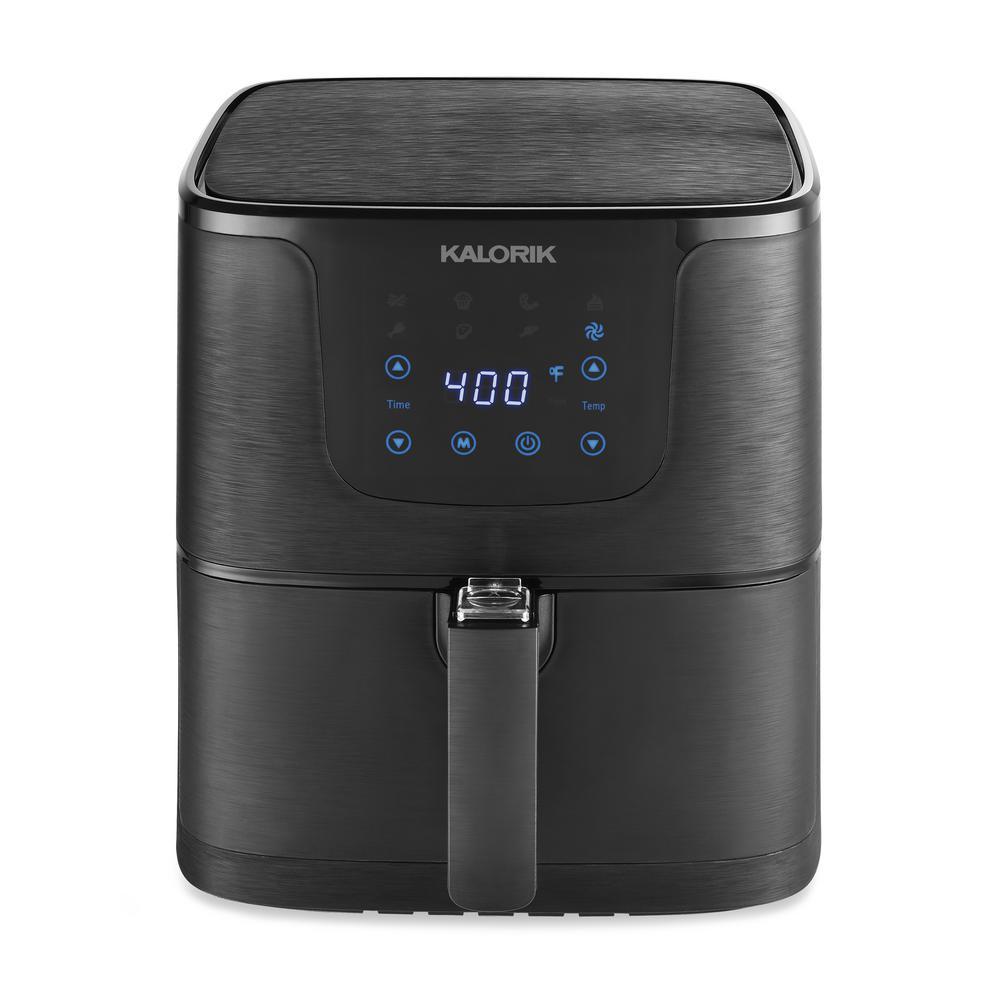 KALORIK 3.5 Qt. Matte Black Digital Air fryer
