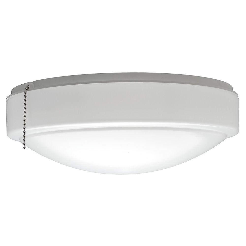 Hampton bay 11 in warm and bright white light universal led ceiling hampton bay 11 in warm and bright white light universal led ceiling fan light kit aloadofball