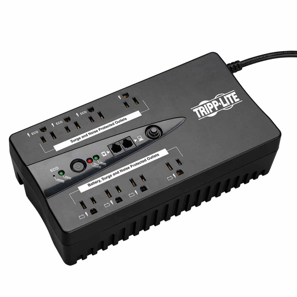 Tripp Lite Taa Compliant Eco Series 8 Outlets 120v 550va 300w Energy