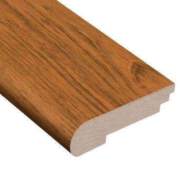 Jatoba Natural Dyna 3/8 in. Thick x 3-1/2 in. Wide x 78 in. Length Hardwood Stair Nose Molding