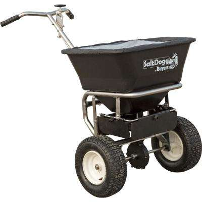 22.5 in. 100 lbs. Capacity Stainless Steel Walk Behind Spreader