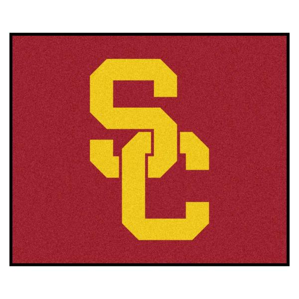 University of Southern California 5 ft. x 6 ft. Tailgater Rug