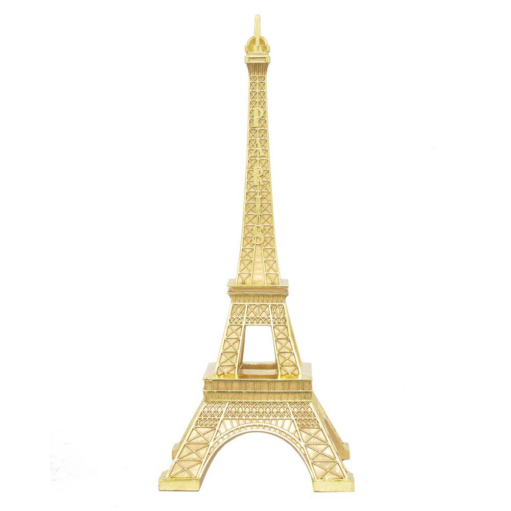 Three Hands Gold Eiffel Tower 29088 The Home Depot