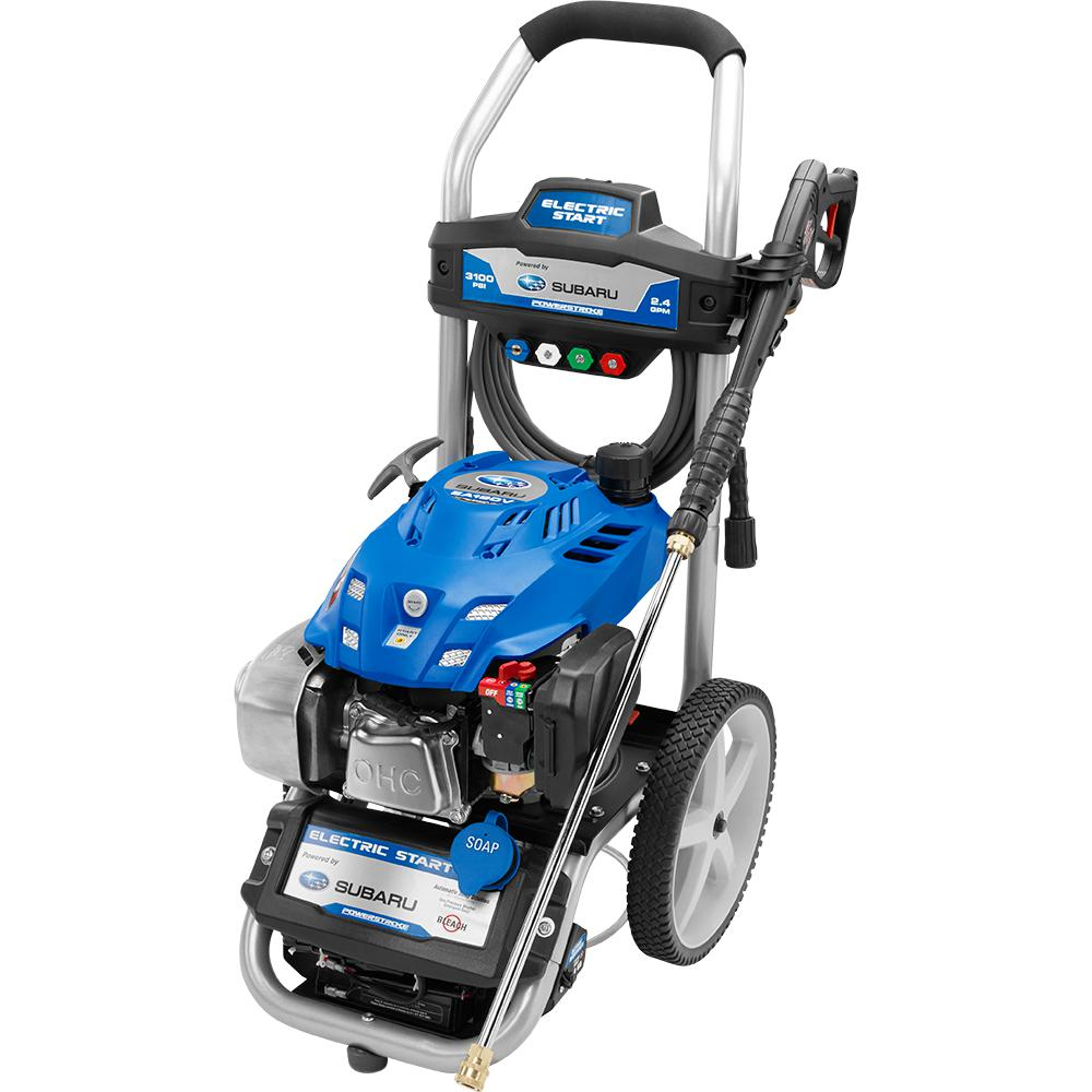 Reconditioned 3,100-PSI 2.5-GPM Subaru Electric Start Gas Pressure Washer