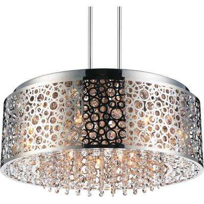 Bubbles 9-Light Chrome Chandelier
