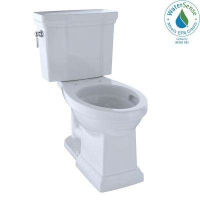 Promenade II 2-piece 1.0 GPF Single Flush Elongated Toilet with CeFiONtect in Cotton White