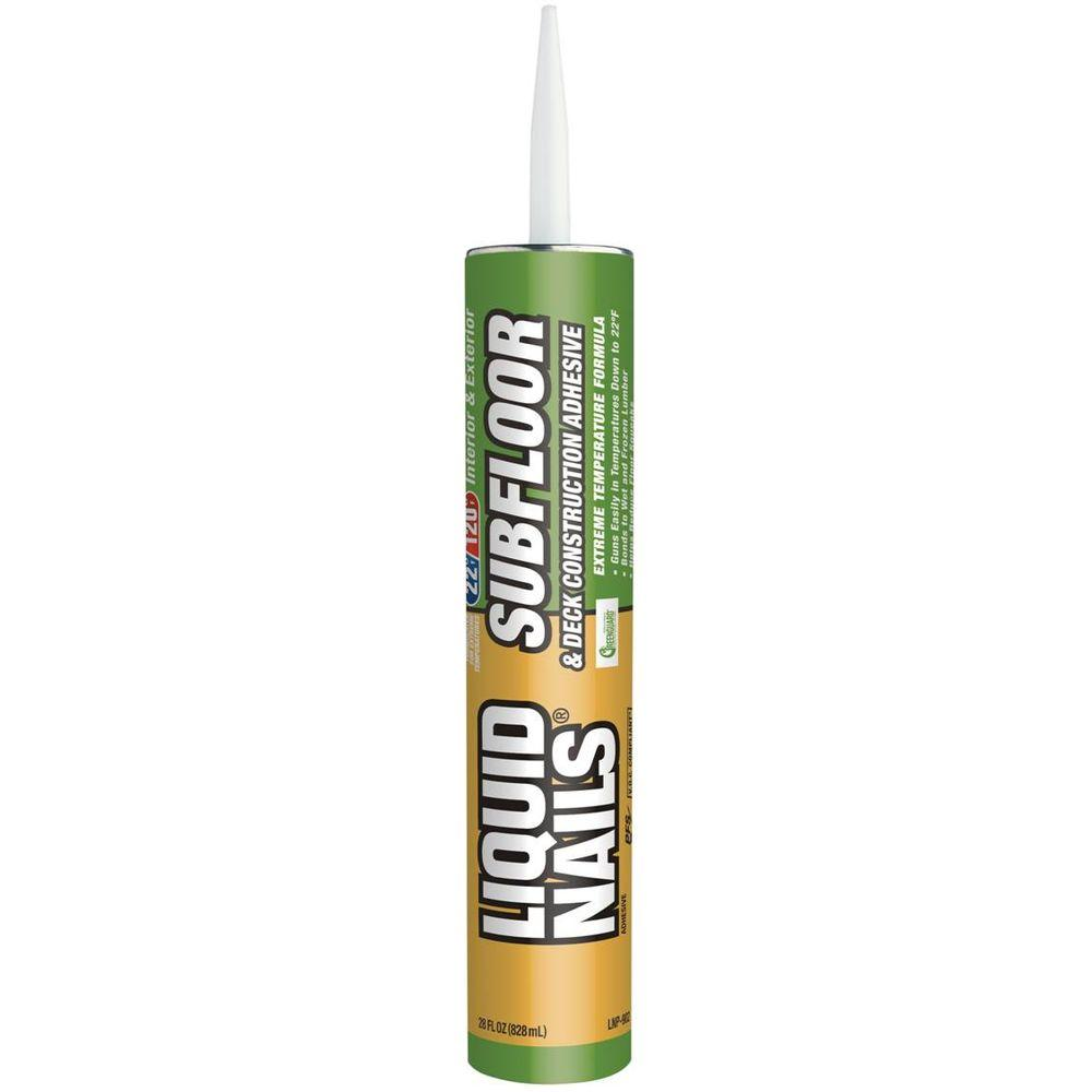 10 fl. oz. Subfloor and Deck Construction Adhesive (24-Pack)