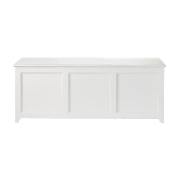 Martha Stewart Living Craft Space Picket Fence White Wooden Storage Chest