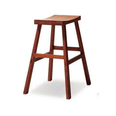 Holly 26 in. Exotic 100% Solid Bamboo Counter Stool (Set of 2)