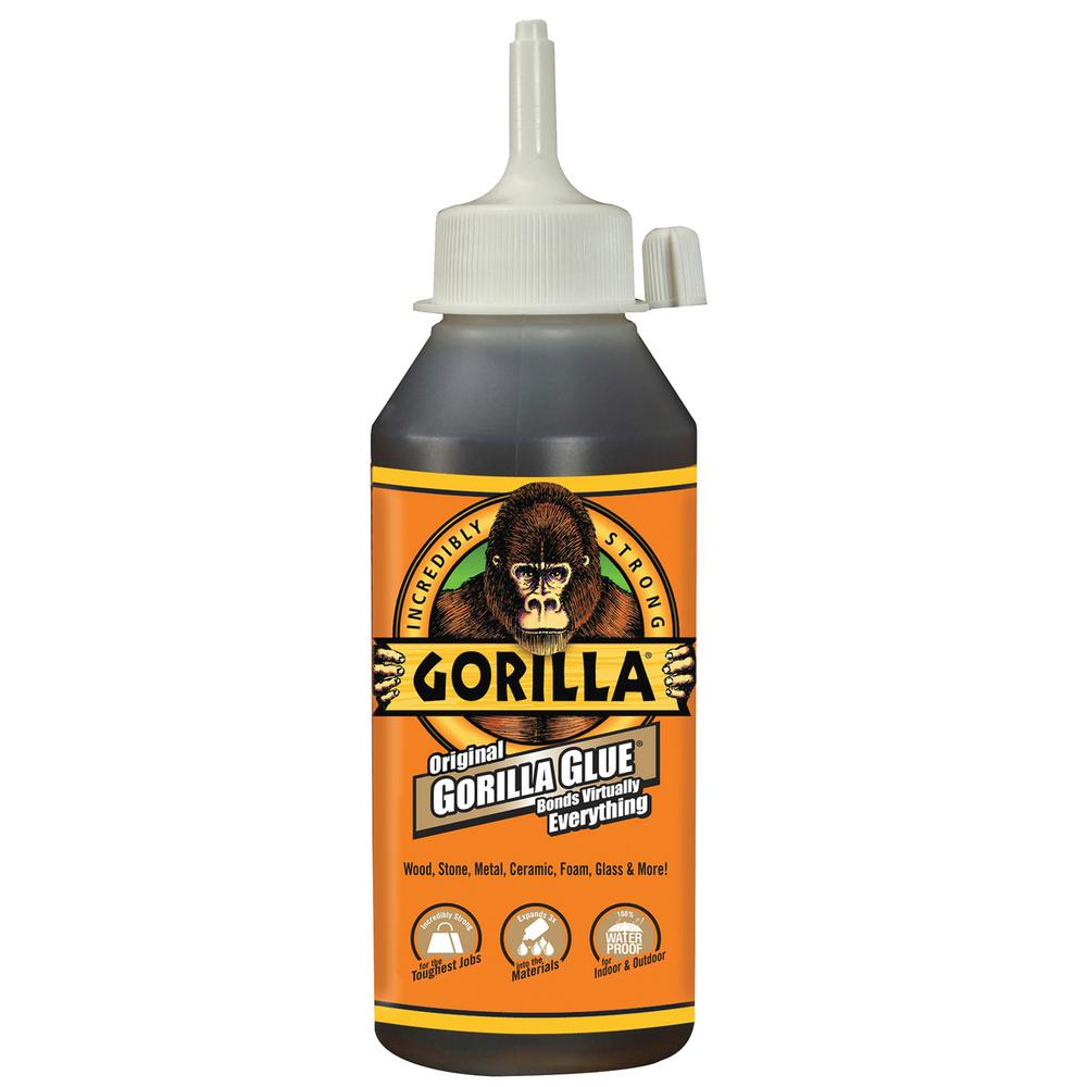 Gorilla Glue Original 8 Oz Glue 6 Pack 5000806 The Home Depot