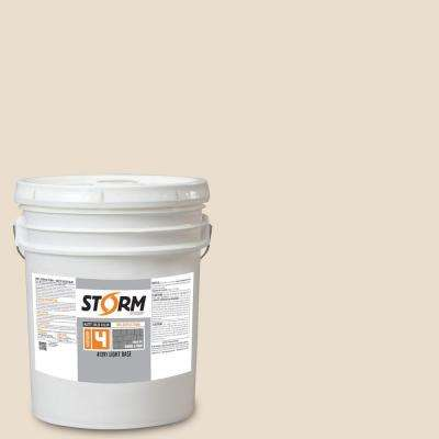Category 4 5 gal. Seashell Matte Exterior Wood Siding 100% Acrylic Latex Stain