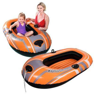 HydroForce Kondor 1000 Inflatable Boat for Swimming Pools (2-Pack)