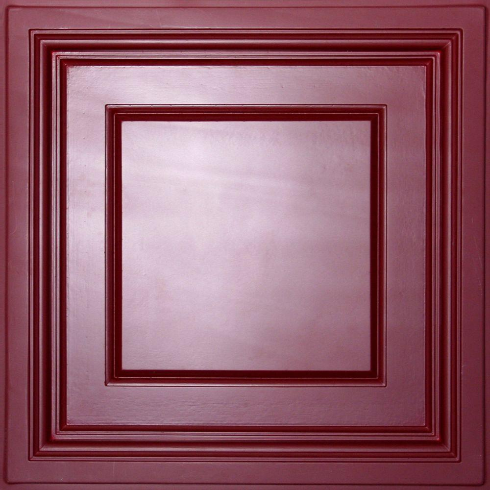 Red 2 x 2 non directional drop ceiling tiles ceiling tiles lay in coffered ceiling panel dailygadgetfo Gallery