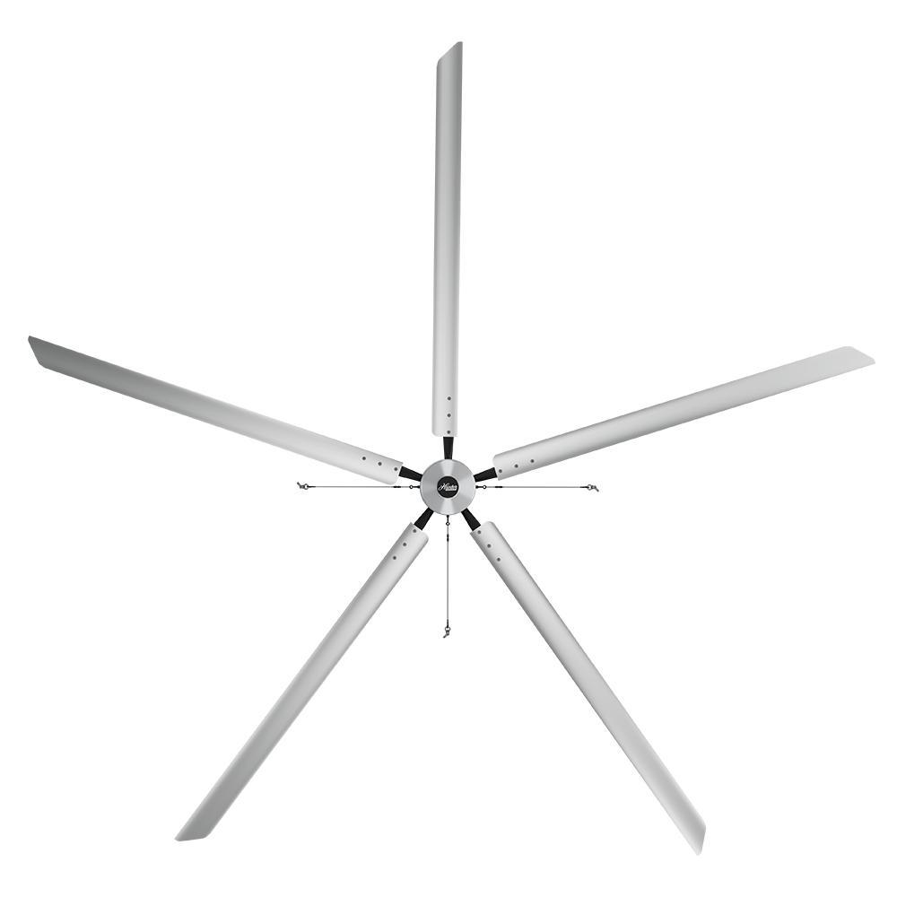 Large Ceiling Fan Industrial: Hunter Industrial Titan 20 Ft. 220-Volt Indoor/Outdoor