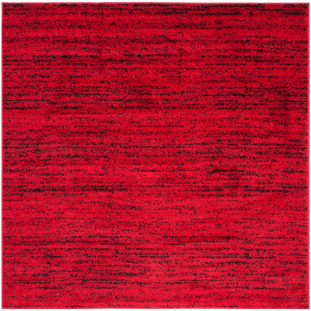 Safavieh Adirondack Red Black 4 Ft X 4 Ft Square Area