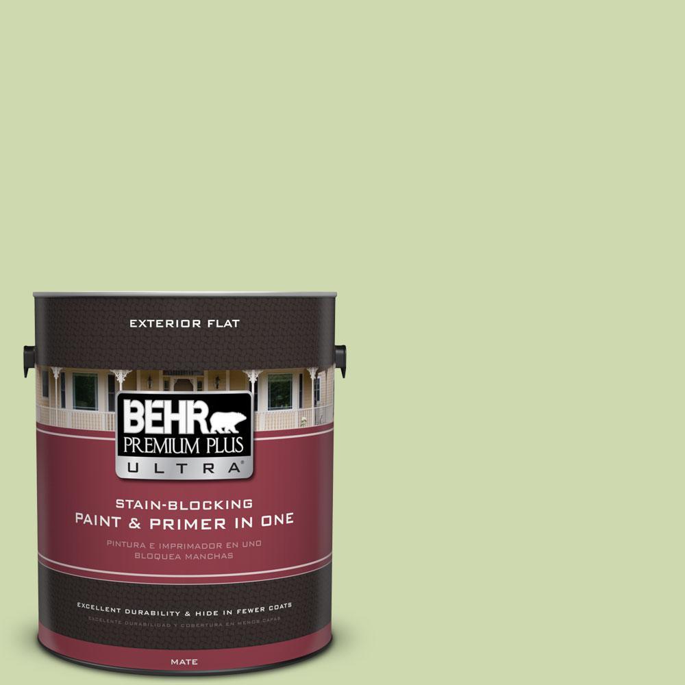 BEHR Premium Plus Ultra 1-gal. #P370-3 Chameleon Skin Flat Exterior Paint