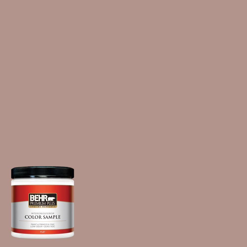 8 oz. #180F-4 Desert Willow Interior/Exterior Paint Sample