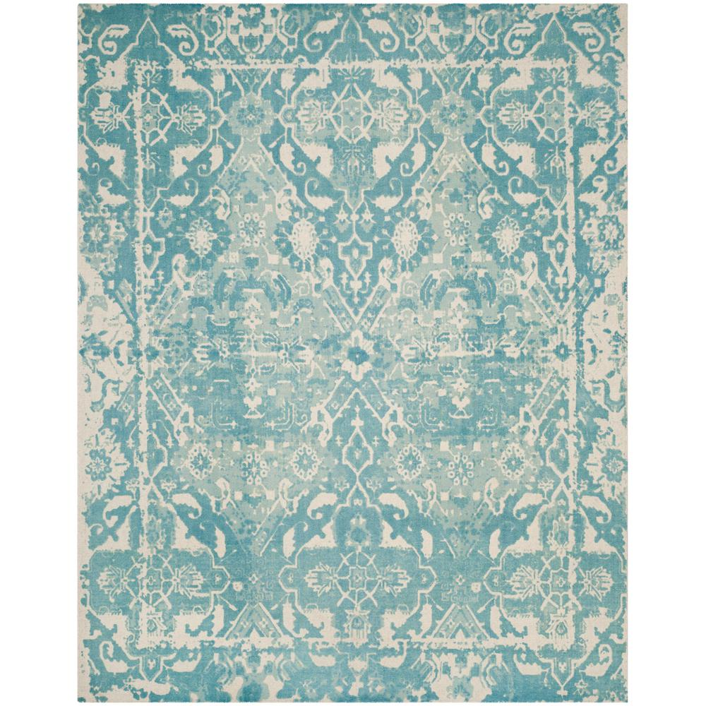 Safavieh Restoration Vintage Light Blue Ivory 8 Ft X 10